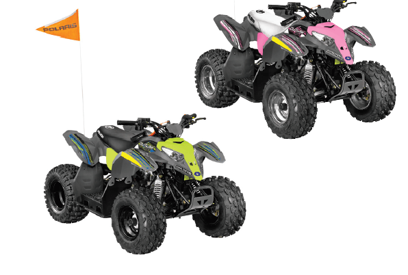 polaris outlaw 50 youth quad
